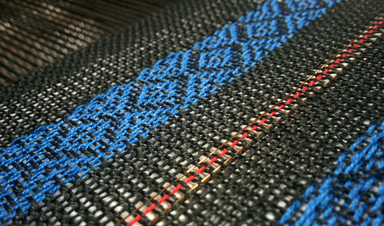 Smart textiles have electronic fibers woven into the fabric, creating sensors that seamlessly blend into clothes.