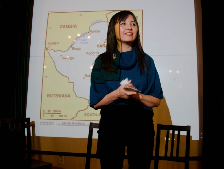 Mimi Lok, executive director of Voice of Witness.