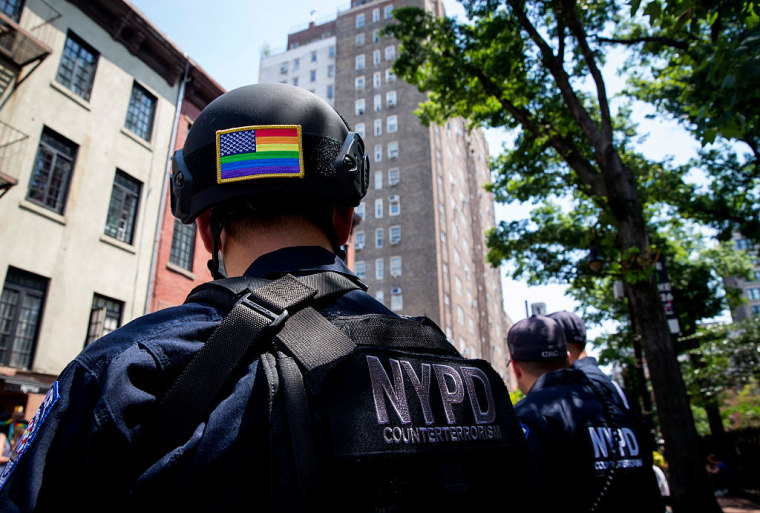 New York's Annual Gay Pride Parade Takes Place In Wake Of Mass Shooting At Orlando Gay Club