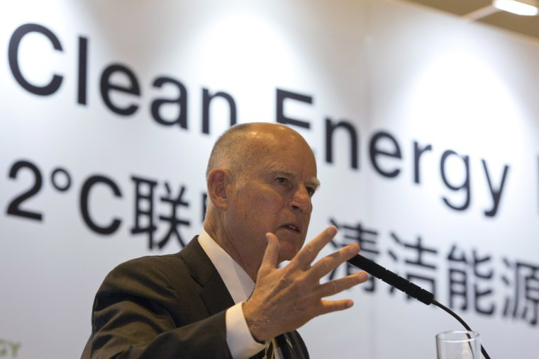 California Gov. Jerry Brown: Congress 'Doesn't Believe in Science'