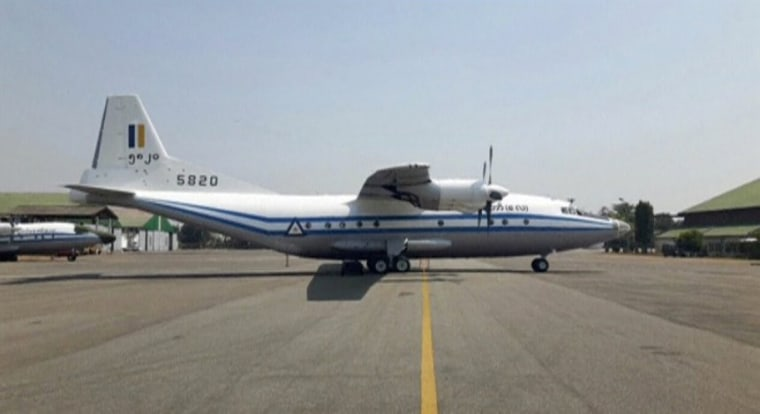 Image: A still image of a Y-8-200 F military aircraft