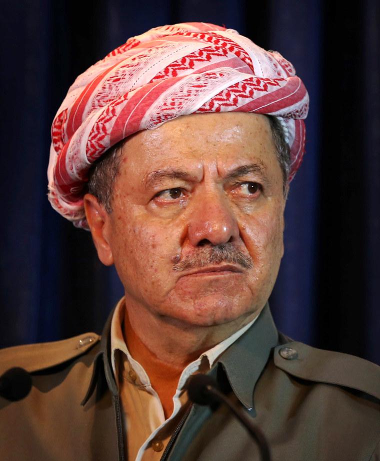 Image: Massud Barzani