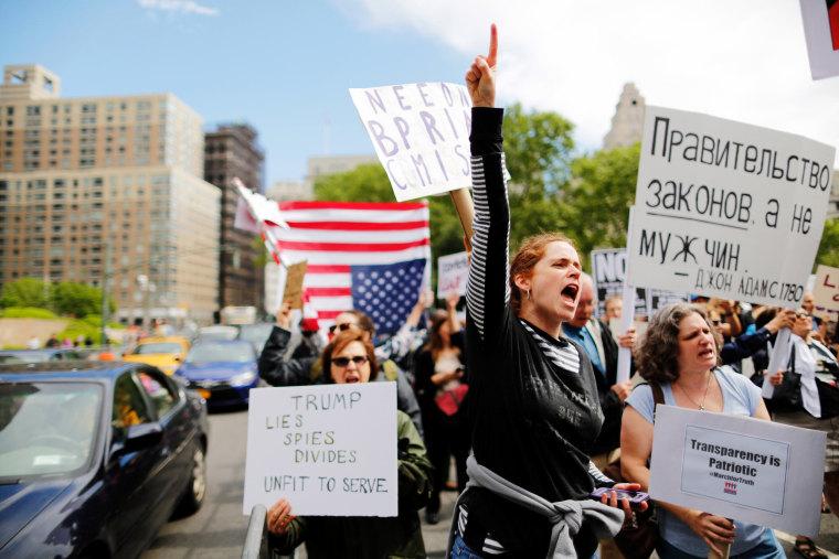 Image: Anti-Trump March