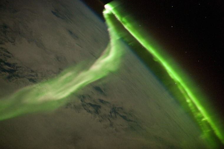 Image: The Aurora Australis Observed from the International Space Station