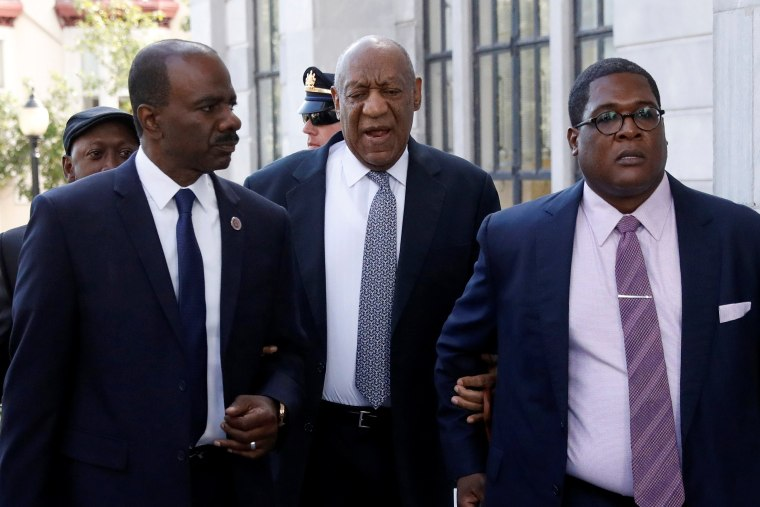 Image: Cosby arrives for the fourth day of his sexual assault trial at the Montgomery County Courthouse in Norristown