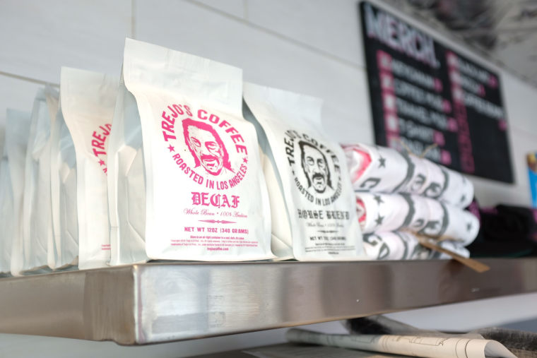 Trejo's Coffee & Donut shop in Los Angeles.