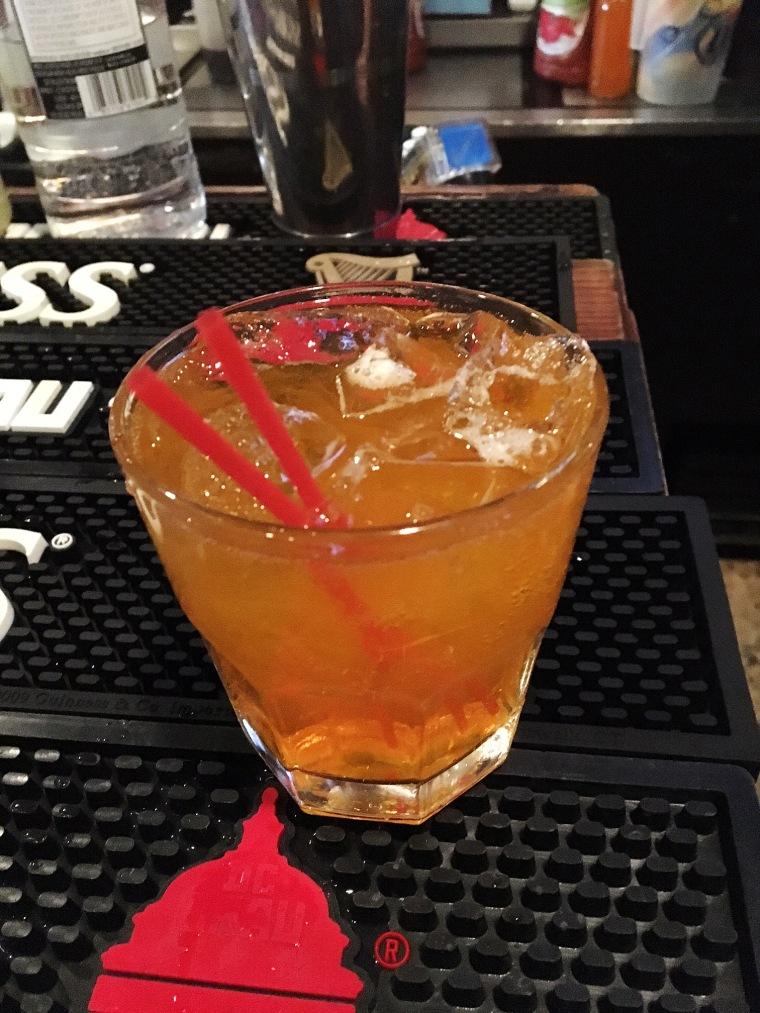 Image: Covfefe cocktail at Duffy's Irish Pub