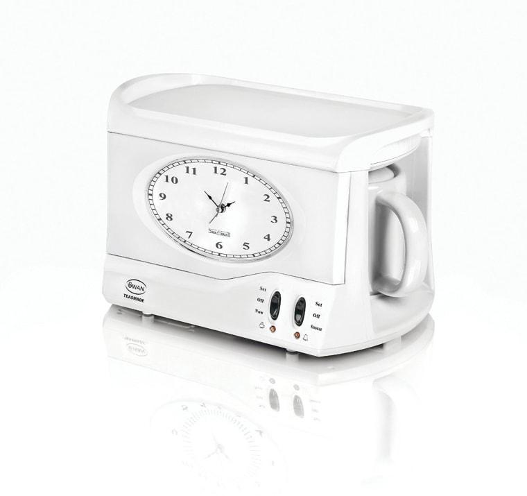 Image: Swan vintage Teasmade and Alarm Clock