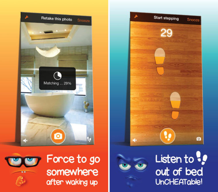 Image: Step Out Of Bed! Smart alarm clock