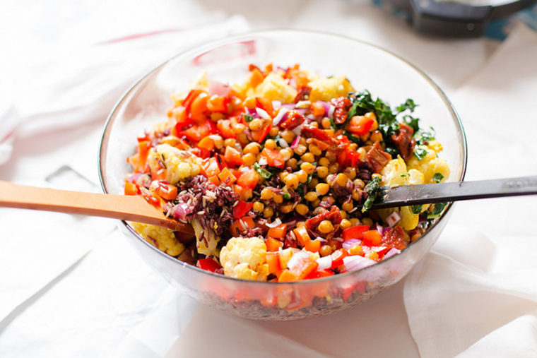 Image: Rice Medley Salad with Roasted Chickpeas