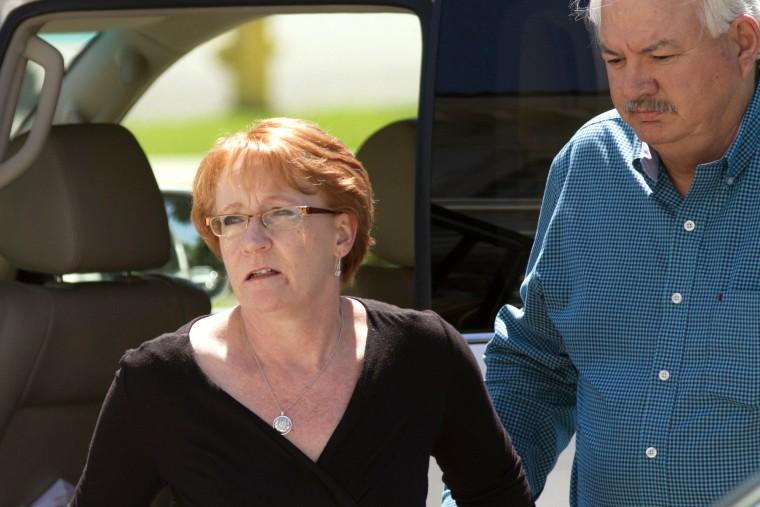 Image: Reality Leigh Winner court hearing in Augusta, Georgia, USA