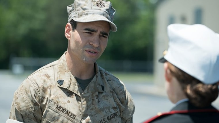 Ramon Rodriguez plays Matt Morales in Megan Leavey.