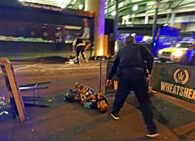Image: At least seven dead in terrorist incident at London Bridge and Borough Market