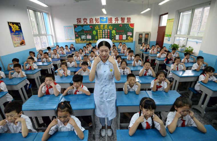 Image: CHINA-HEALTH-EDUCATION