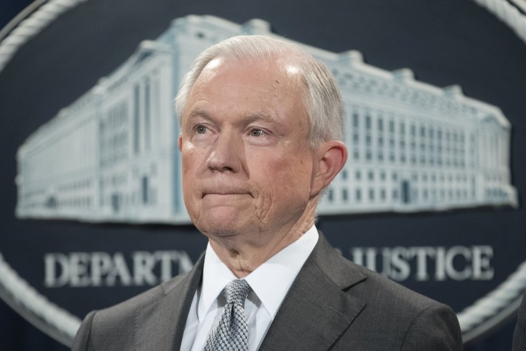 Image: US Attorney General Jeff Sessions