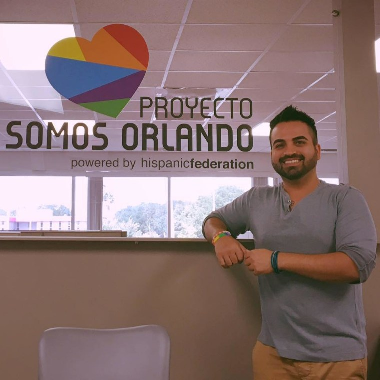 Ricardo Negron, from Somos Orlando.