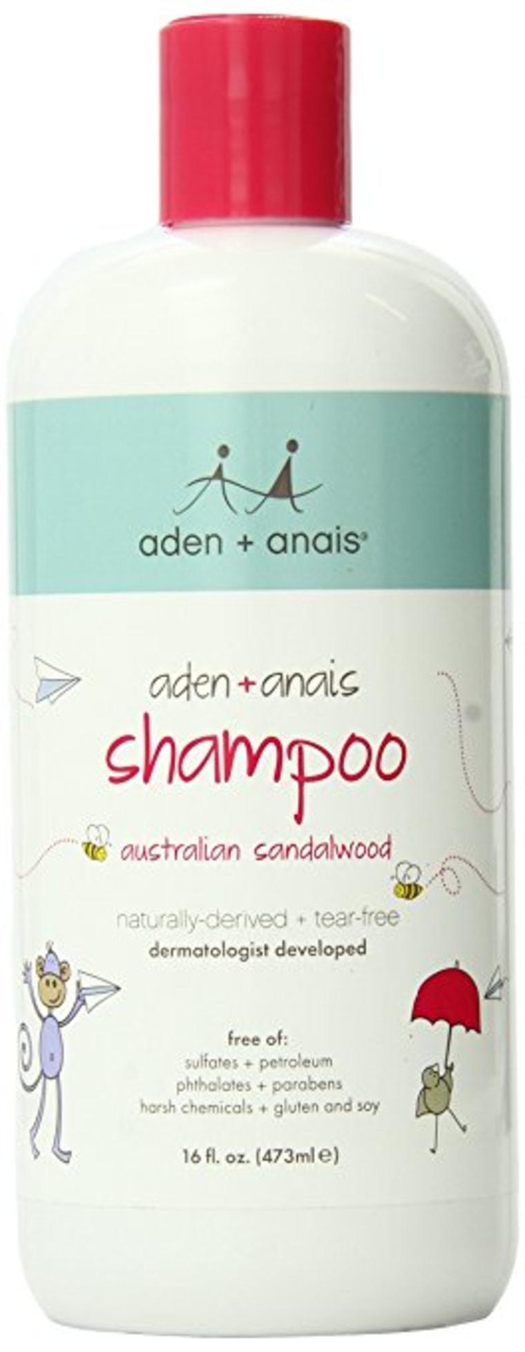 Aden and Anais Shampoo