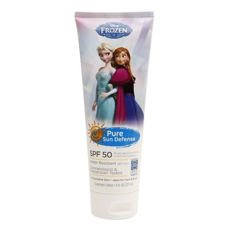 Pure Defense Disney Frozen Sunscreen