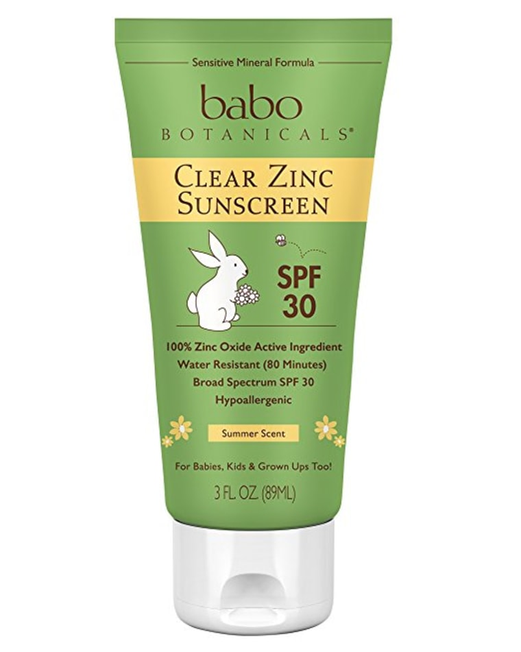 Babo Botanicals Sunscreen