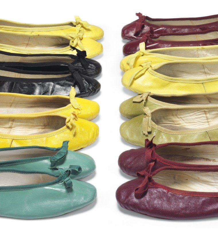 A pair of Hepburn's signature ballet flats could be yours!