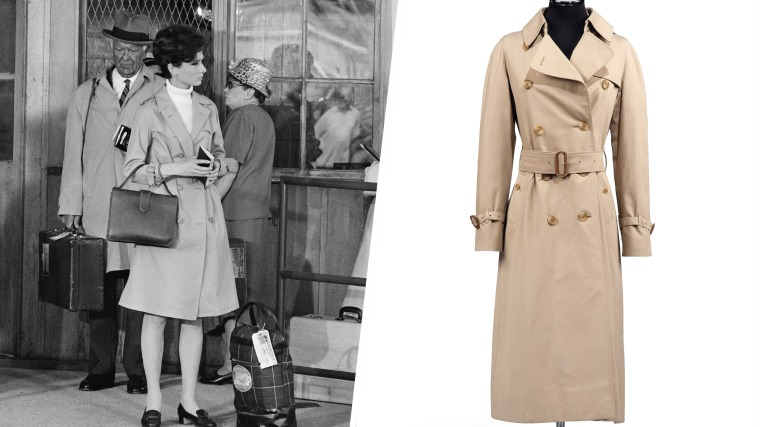 Trench Coat worn by Audrey Hepburn