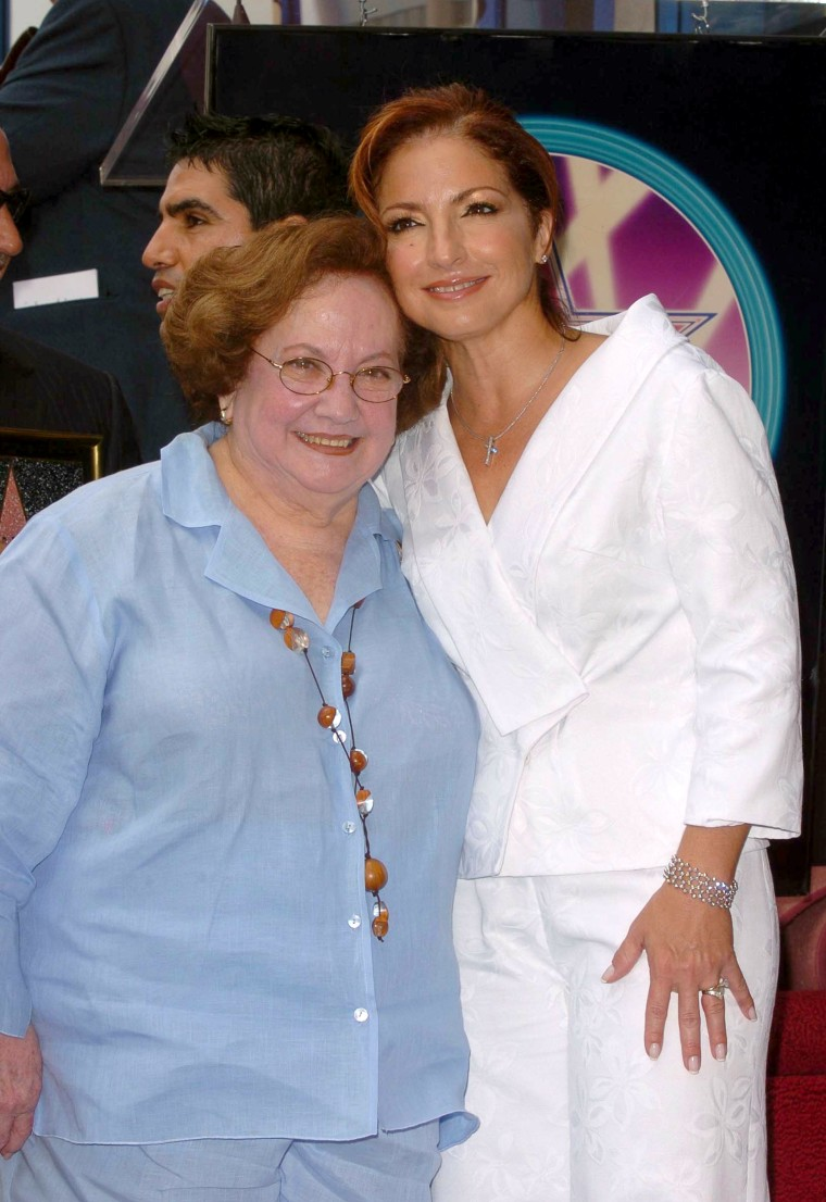 Gloria Estefan and mother Gloria Fajardo