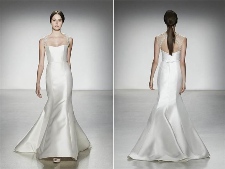Wedding Katie Was Married In September 2014 At Cape Cod Heres A Dress Style She Considered TODAY