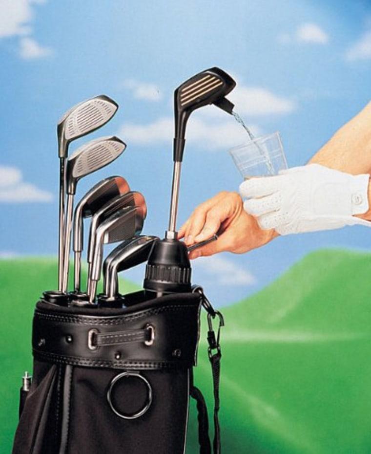 Golf club dispenser