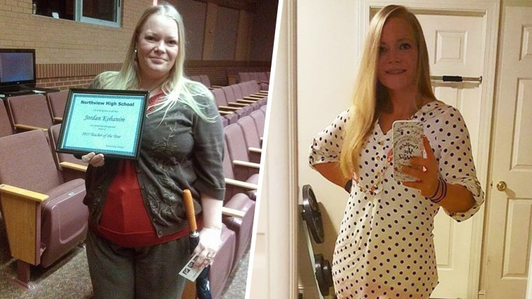 After struggling with her weight all her life, Jordan Kohanim started tracking what she ate and exercising, starting with 15 minutes at a time. In two years, she lost 70 pounds.