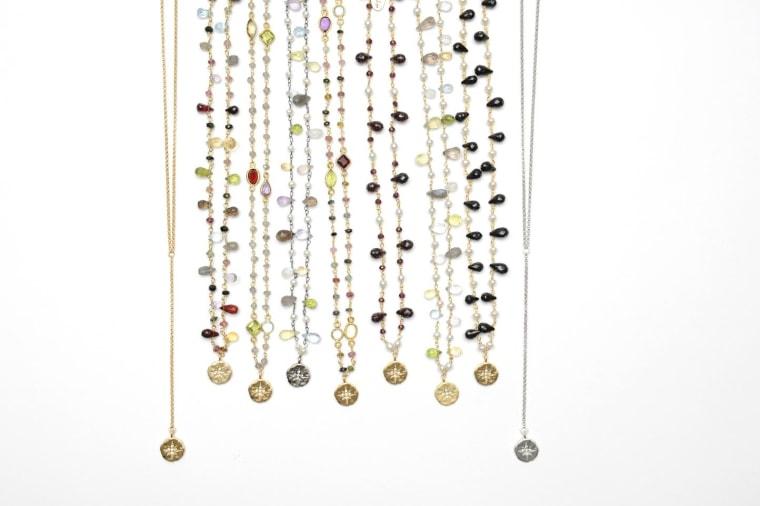 Celeste, Cecelia necklaces