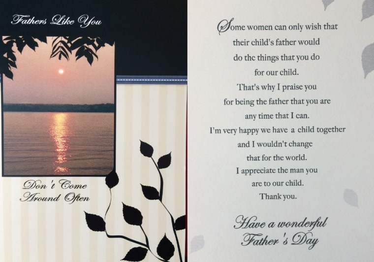 Divorce inspires a new kind of Father's Day cards