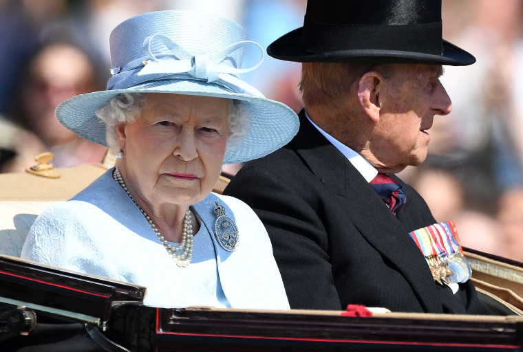 Image: BRITAIN-ROYAL-TROOPING