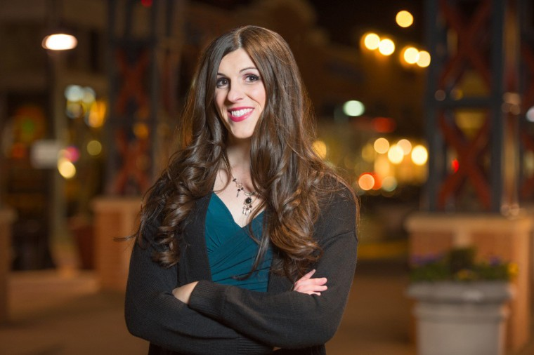Image: Danica Roem, candidate for Virginia's House of Delegates in the 13th district