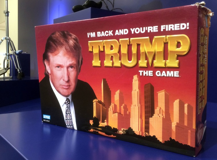 "Image: ""I'm Back And You're Fired! Trump The Game"" is on display at the Museum of Failure in Helsingborg, Sweden"