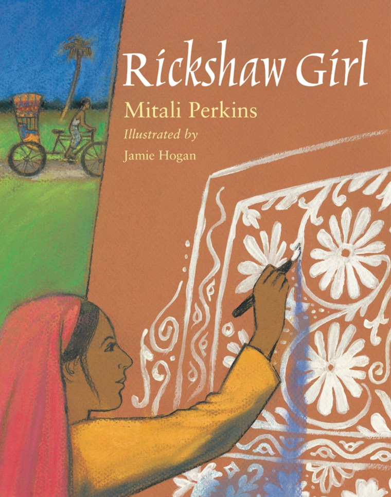 "The cover of ""Rickshaw Girl"""