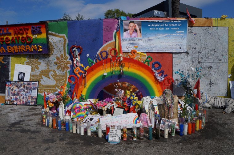 Image: The parking lot at the Pulse nightclub in Orlando
