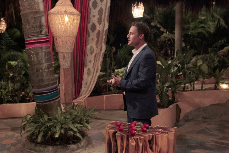 """Image: A rose ceremony for the """"Bachelor in Paradise."""""""