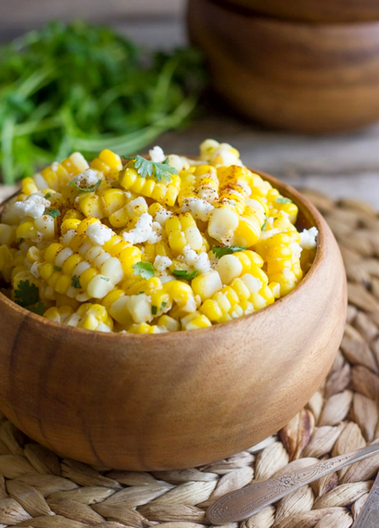 Image: Chili Lime Sweet Corn Salad