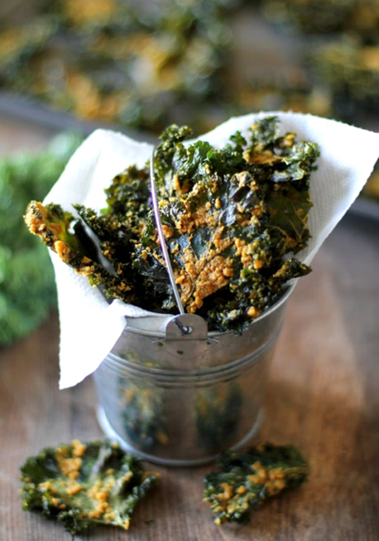 Image: Nacho Cheese Kale Chips