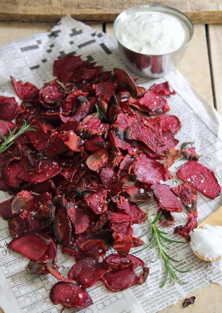 Image: Rosemary Sea Salt and Vinegar Beet Chips