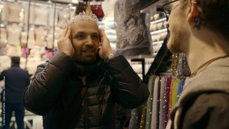 "A scene from the new documentary ""Mr Gay Syria"""