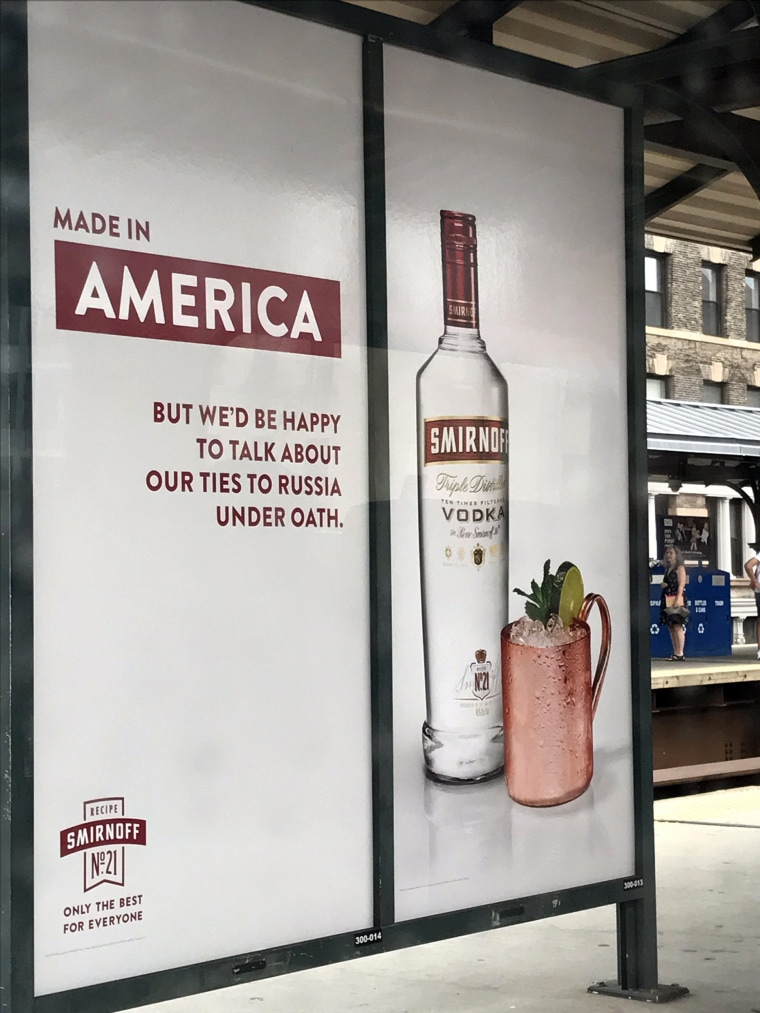 Image: Smirnoff Vodka Ad