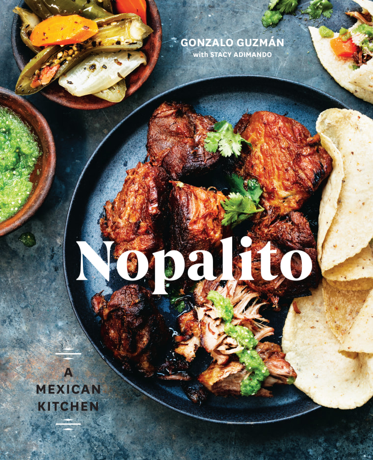 Flavors of home nopalito book celebrates the mexican kitchen gonzalo gonzalez guzmans new cook book nopalito a mexican kitchen written with stacey forumfinder Gallery