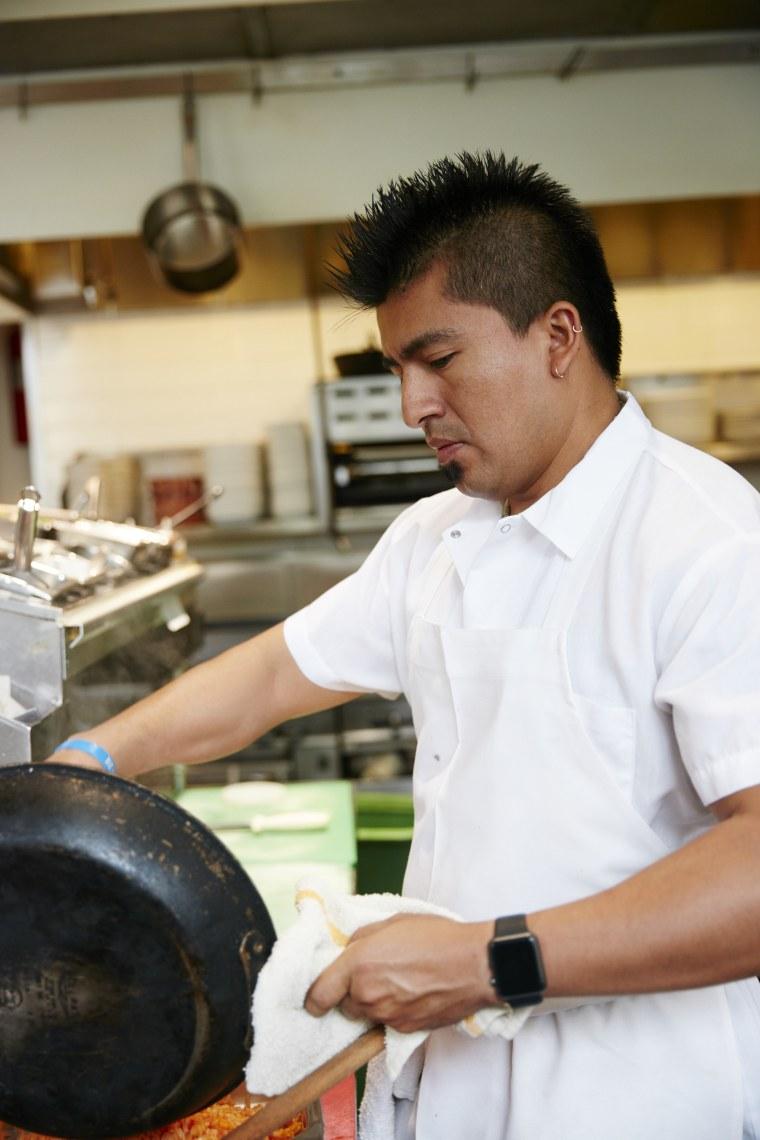 Gonzalo Gonzalez Guzman is a partner and chef of San Francisco's popular Nopalito restaurant.