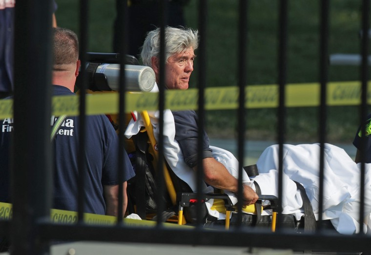 Image: Multiple Injuries Reported From Shooting At Field Used For Congressional Baseball Practice