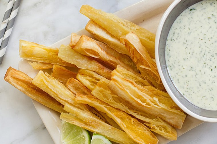 Yucca Fries with Mojo Mayonnaise