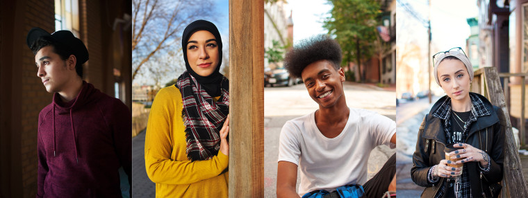 """Portraits from the """"Muslims of America"""" photo series by Carlos Khalil Guzman"""
