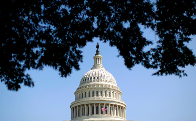 Image: FILE PHOTO: The dome of the U.S. Capitol is seen in Washington
