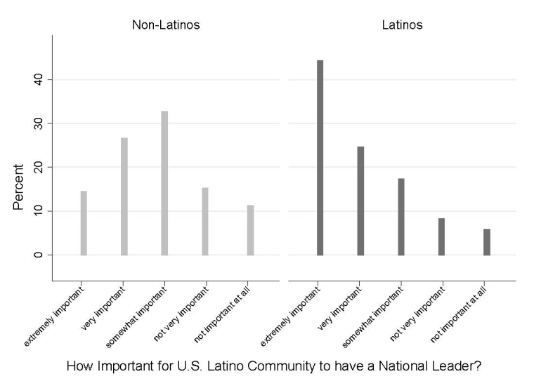 Graph: How Important for the U.S. Latino Community to Have a National Leader?