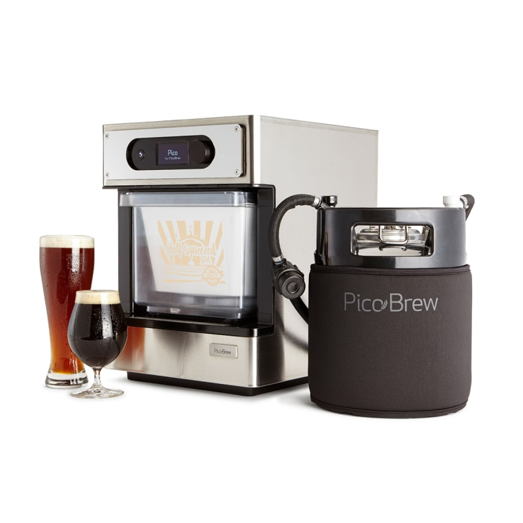 The Pico Pro from PicoBrew is a smart beer-brewing home appliance that will turn Dad into a craft beer master. Cheers!
